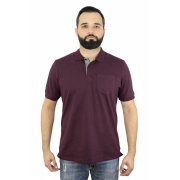 Camisa Polo Ogochi Mc Essencial Com Bolso 0041