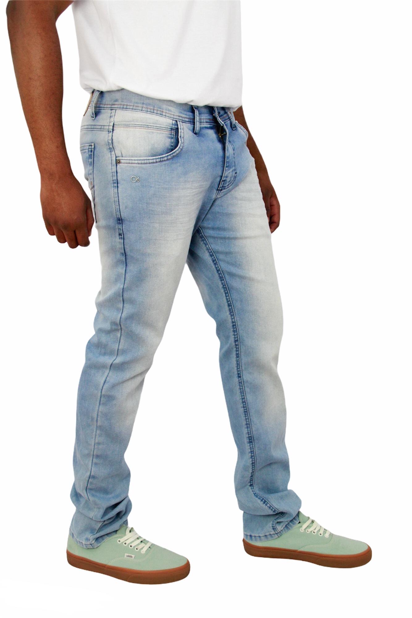 Calça Jeans Slim Fit Ogochi