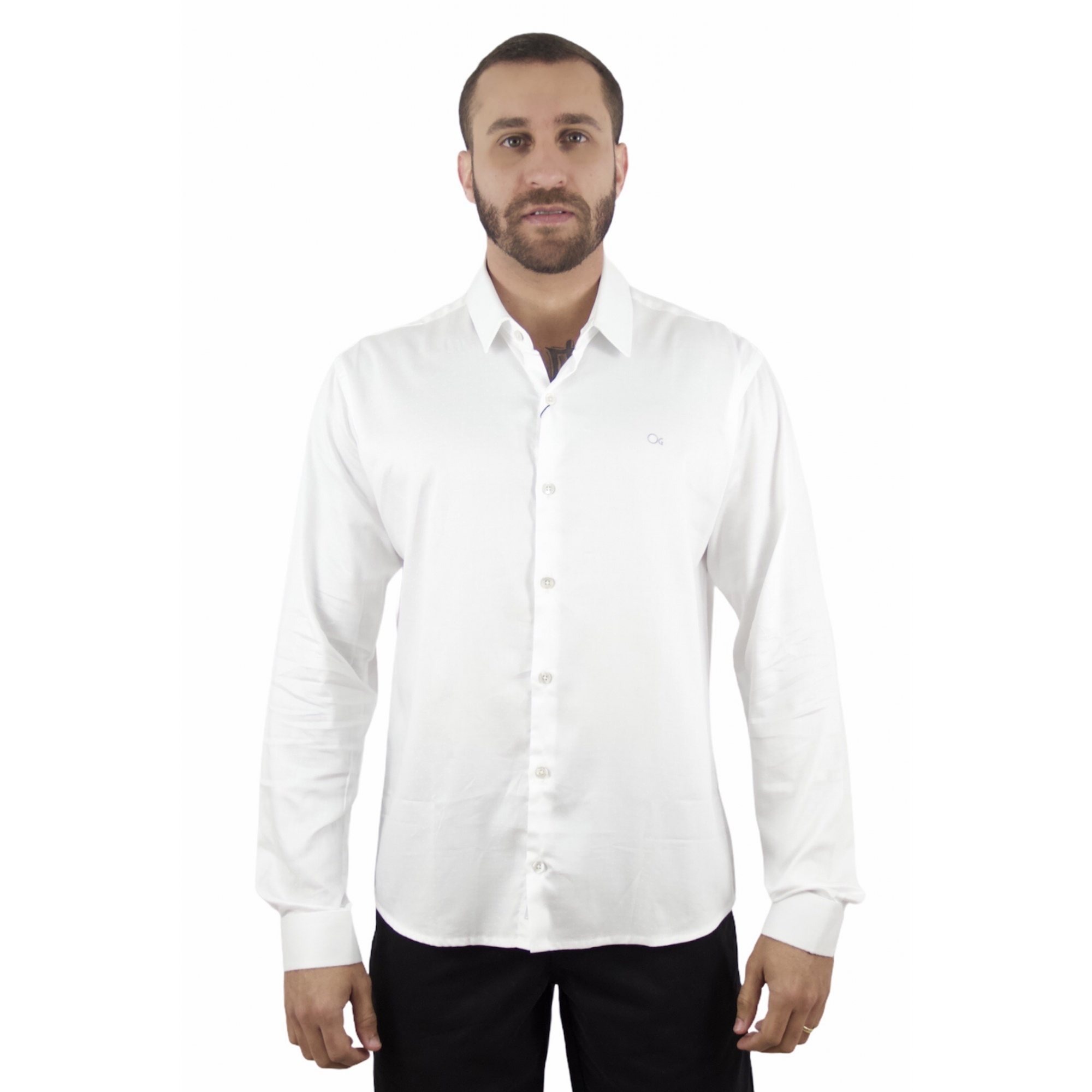 Camisa ML Cult Slim Fit Ogochi