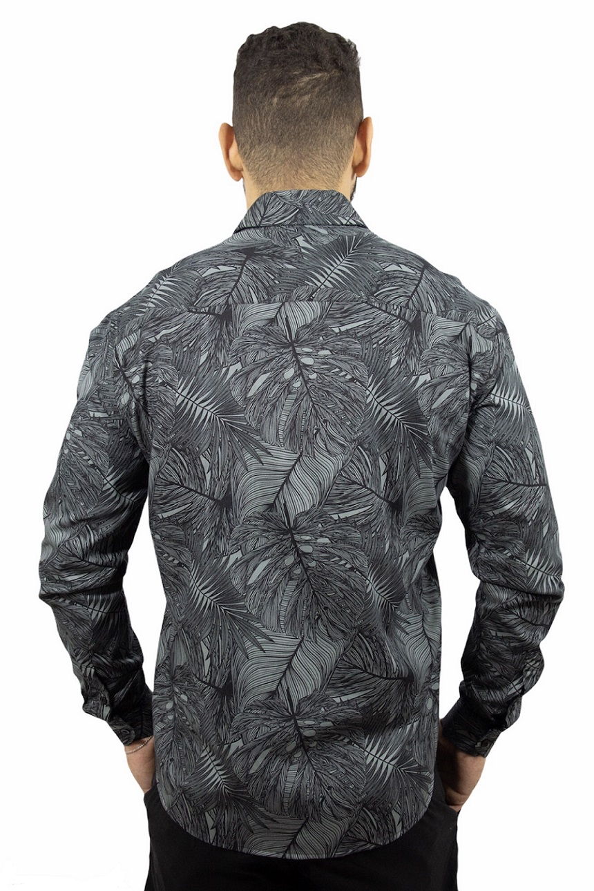 Camisa ML Cult Slim Ogochi