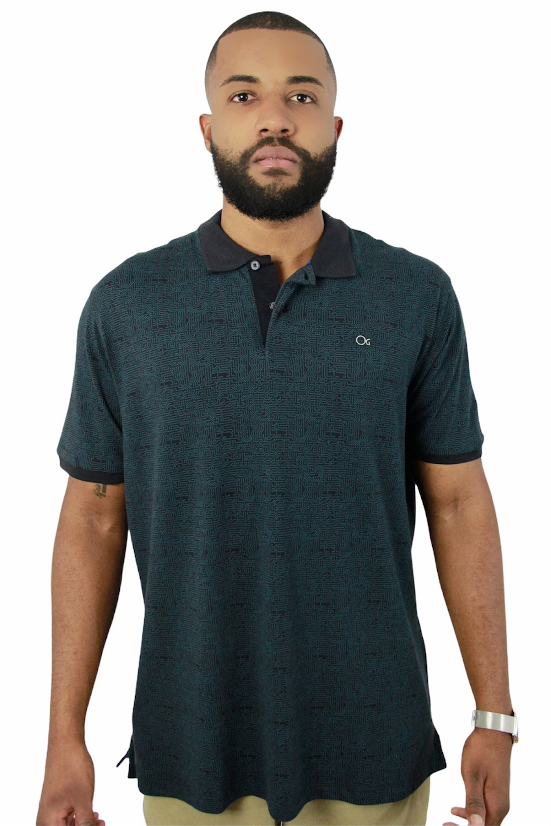 Camisa Polo Ogochi Mc Cult Slim 8469