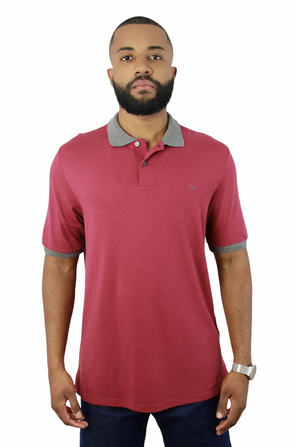 Camisa Polo Ogochi Mc Special Slim Piq 0181
