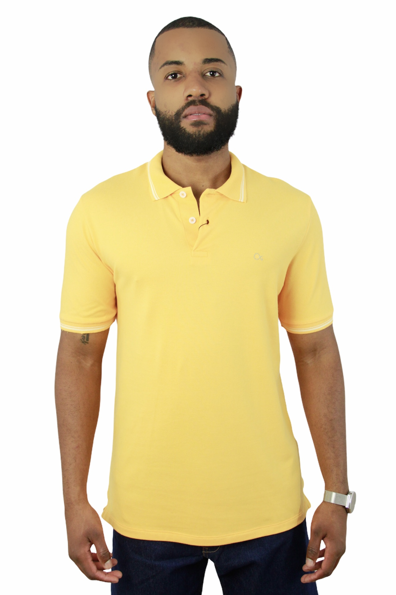 Camisa Polo Ogochi Mc Special Slim Pique 4097