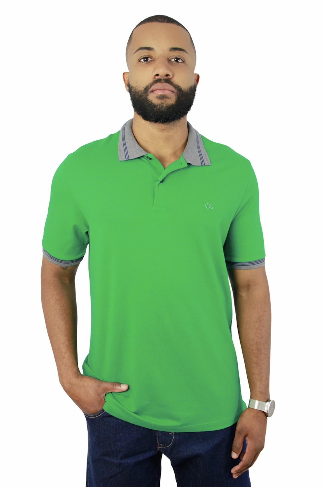 Camisa Polo Ogochi Mc Special Slim Pique 4812