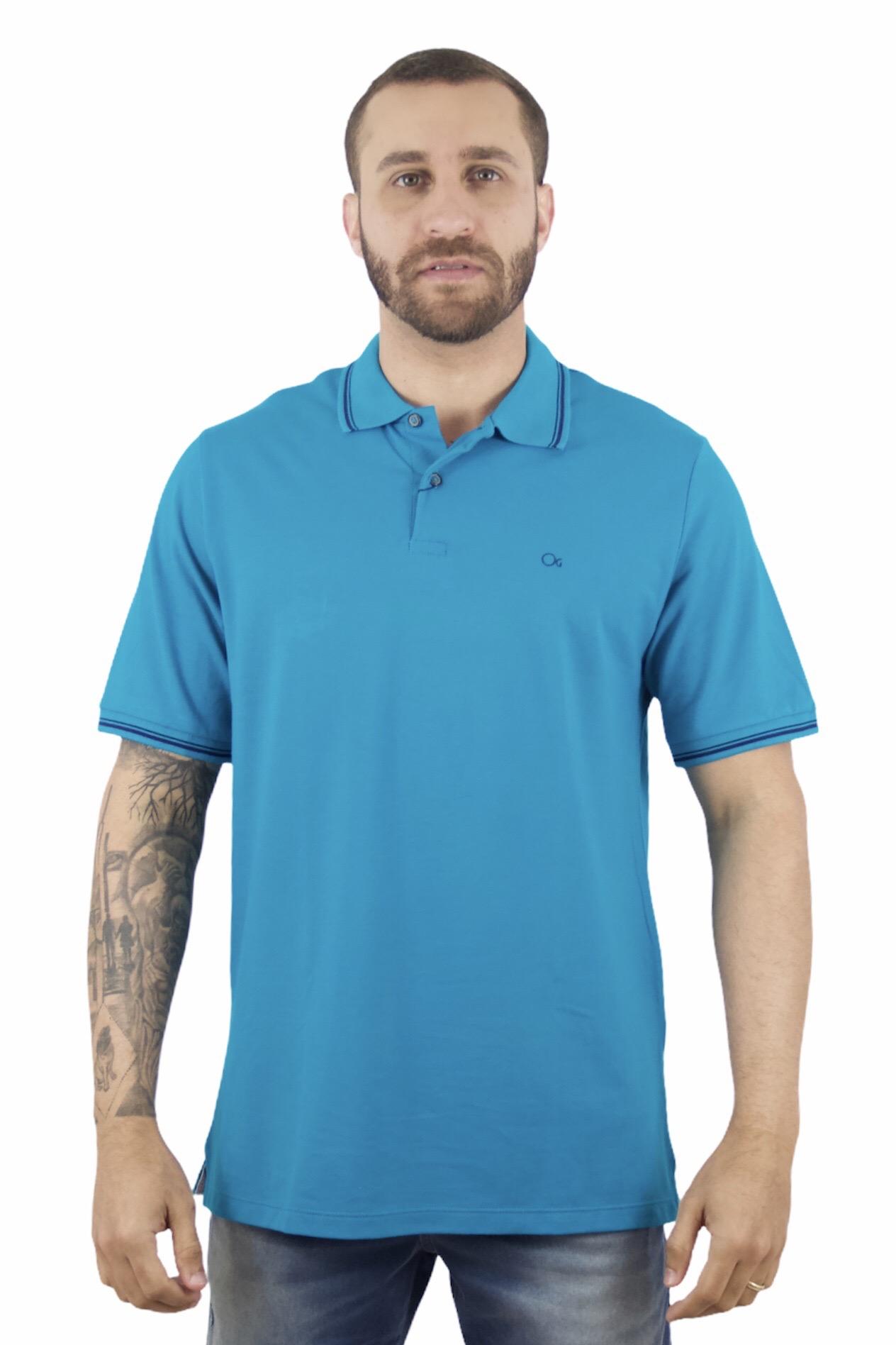 Camisa Polo Ogochi Mc Special Slim Pique 7008