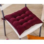 Assento Para Cadeira Futon 40x40 Cm - Vinho