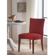 Capa para Cadeira de Malha Lisa Vermelho