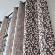 Cortina Combinada Alice 200X180cm Chocolate Sultan