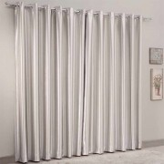 Cortina Corta-Luz Blackout Naturalle Fashion 2,00cmx1,80cm Bege