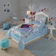Kit Frozen com jogo de cama mais toalha de banho