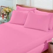 Lençol Avulso Solteiro Malha Com Elastico Rosa - Bouton