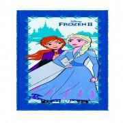 Toalha De Banho Infantil Frozen 2 Mod 1 Felpuda-Lepper