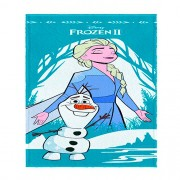 Toalha De Banho Infantil Frozen 2 Mod 5 Felpuda-Lepper