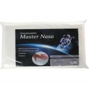 Travesseiro Nasa Viscoelastico 58X38X10cm Master Comfort