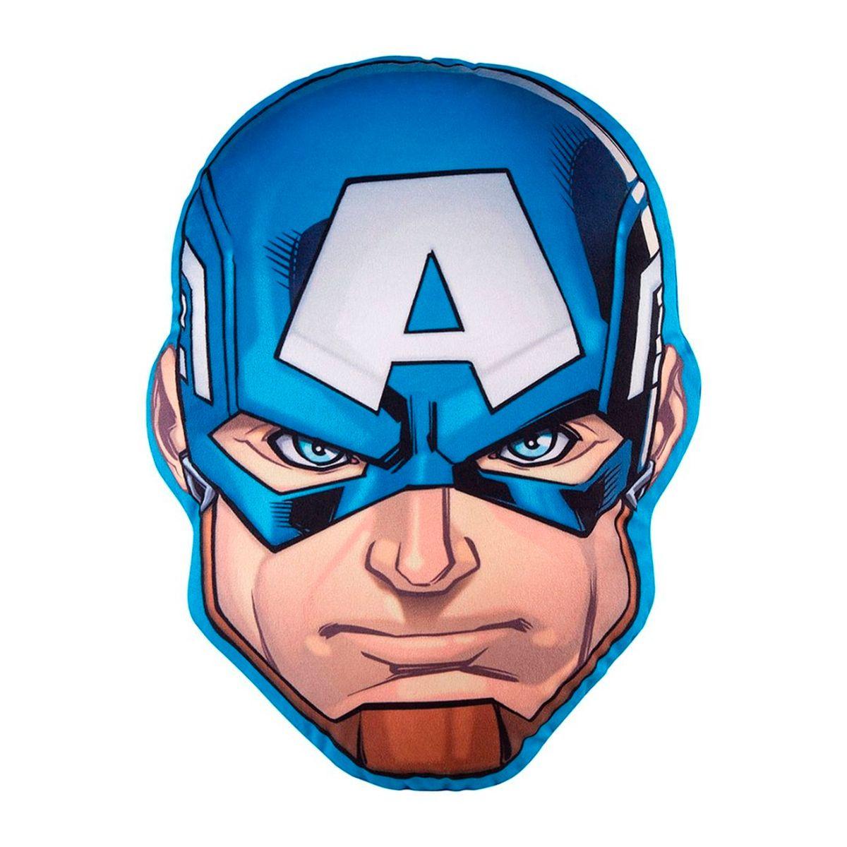 Almofada Infantil Avengers Capitão America 30x40cm