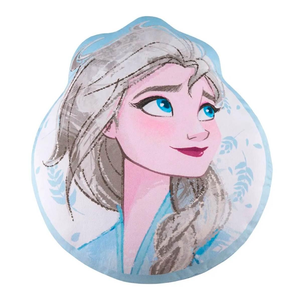Almofada infantil transfer Frozen Elsa 34x40cm