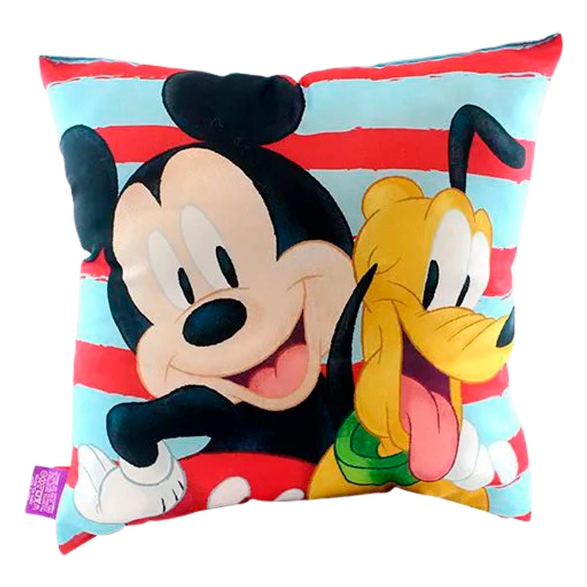 Almofada Mickey Friends Microfibra 40x40cm - Master Comfort