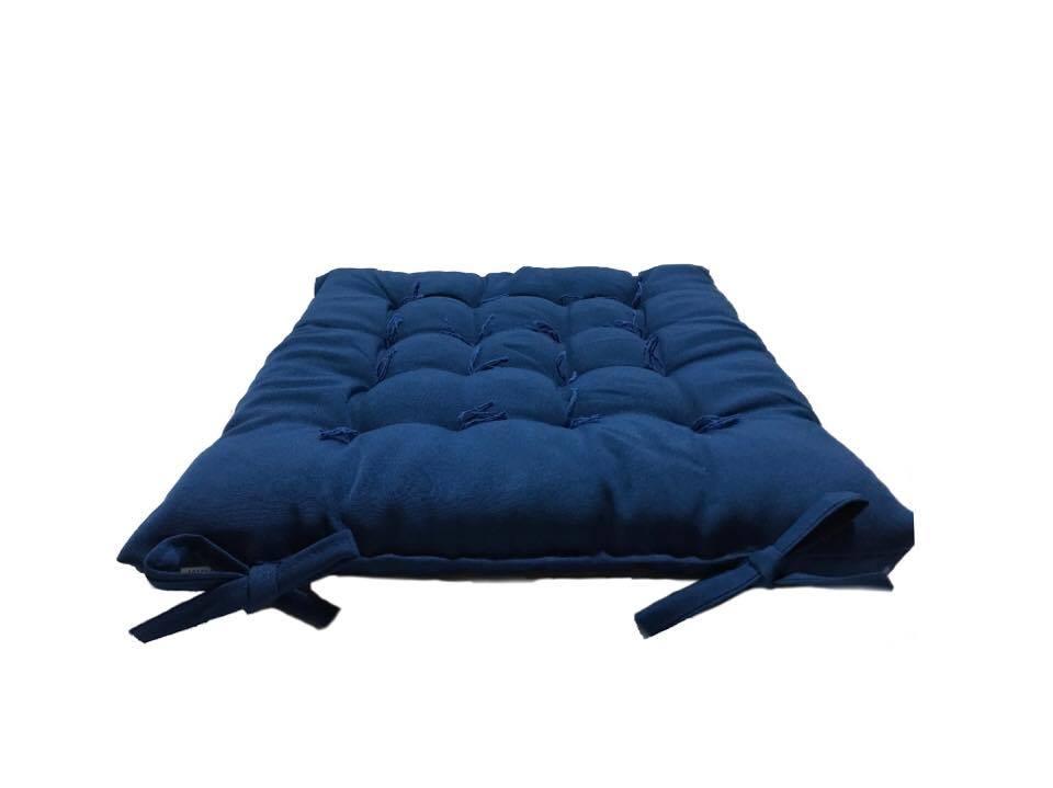 Assento Para Cadeira Futon 40x40 Cm - Jeans