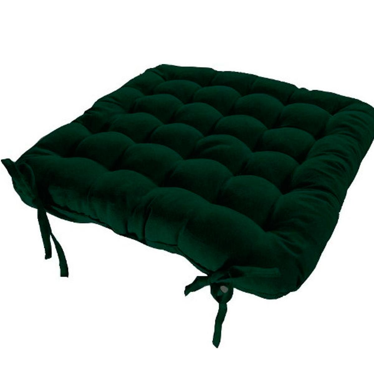 Assento Para Cadeira Futon 40X40 Cm  Verde Musgo