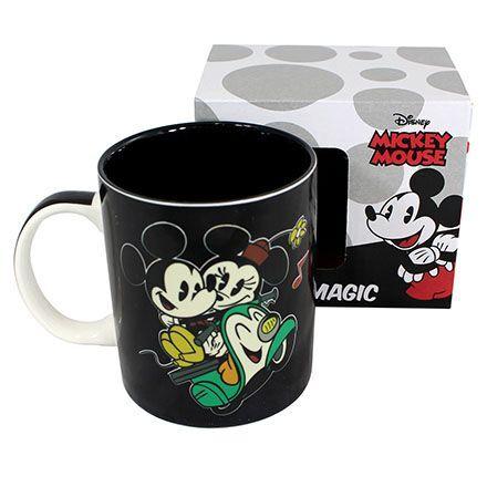 Caneca Magic 300Ml Mickey E Minnie Route Lamour