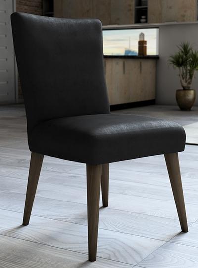 Capa De Veludo Para Cadeira Preto