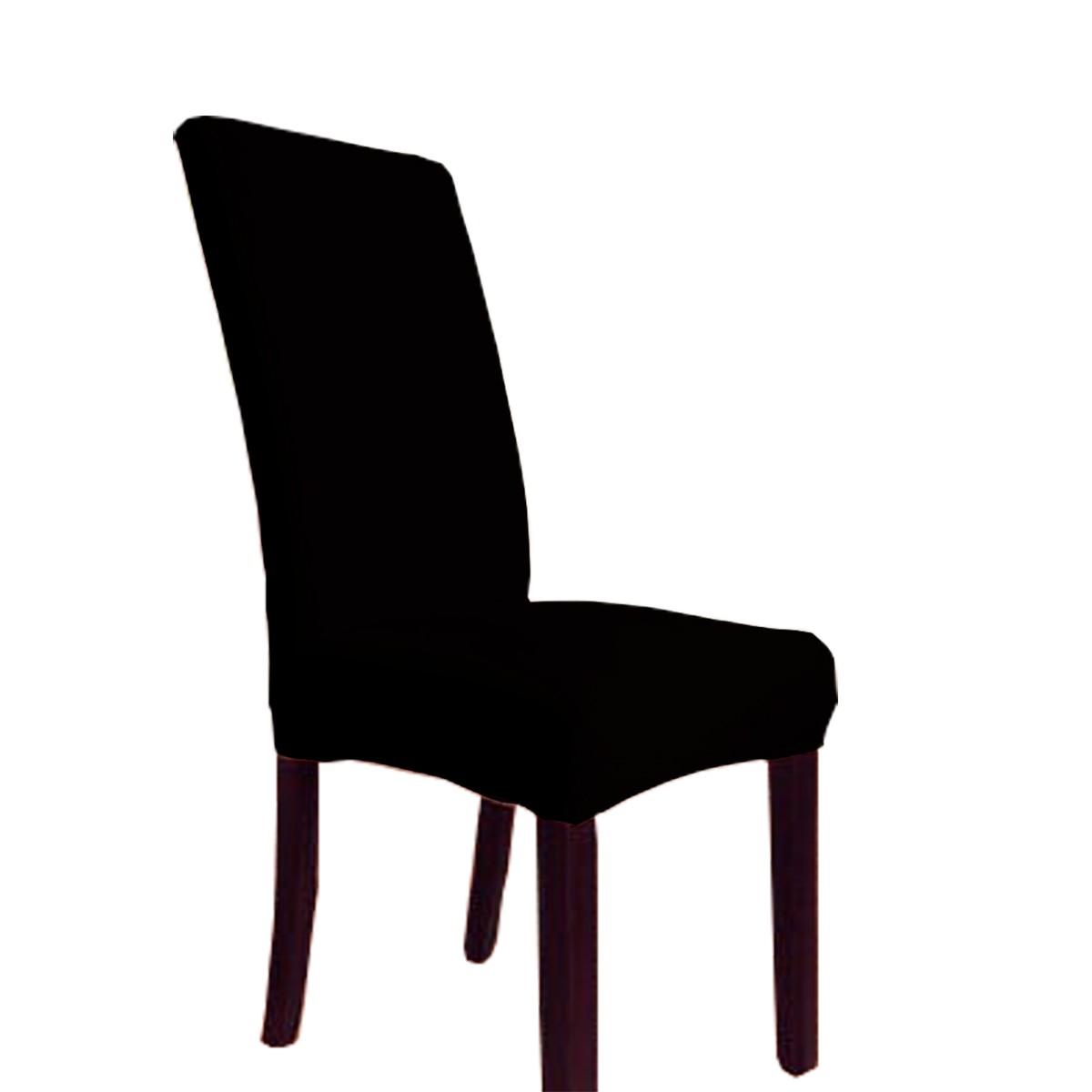 Capa Para Cadeira Avulsa Cacharrel tam Unico Preto