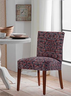 Capa Para Cadeira De Malha Estampada Abstrato