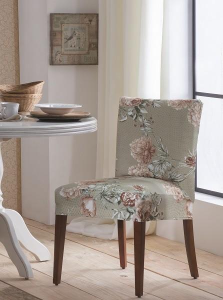 Capa para Cadeira de Malha Estampada Dalia