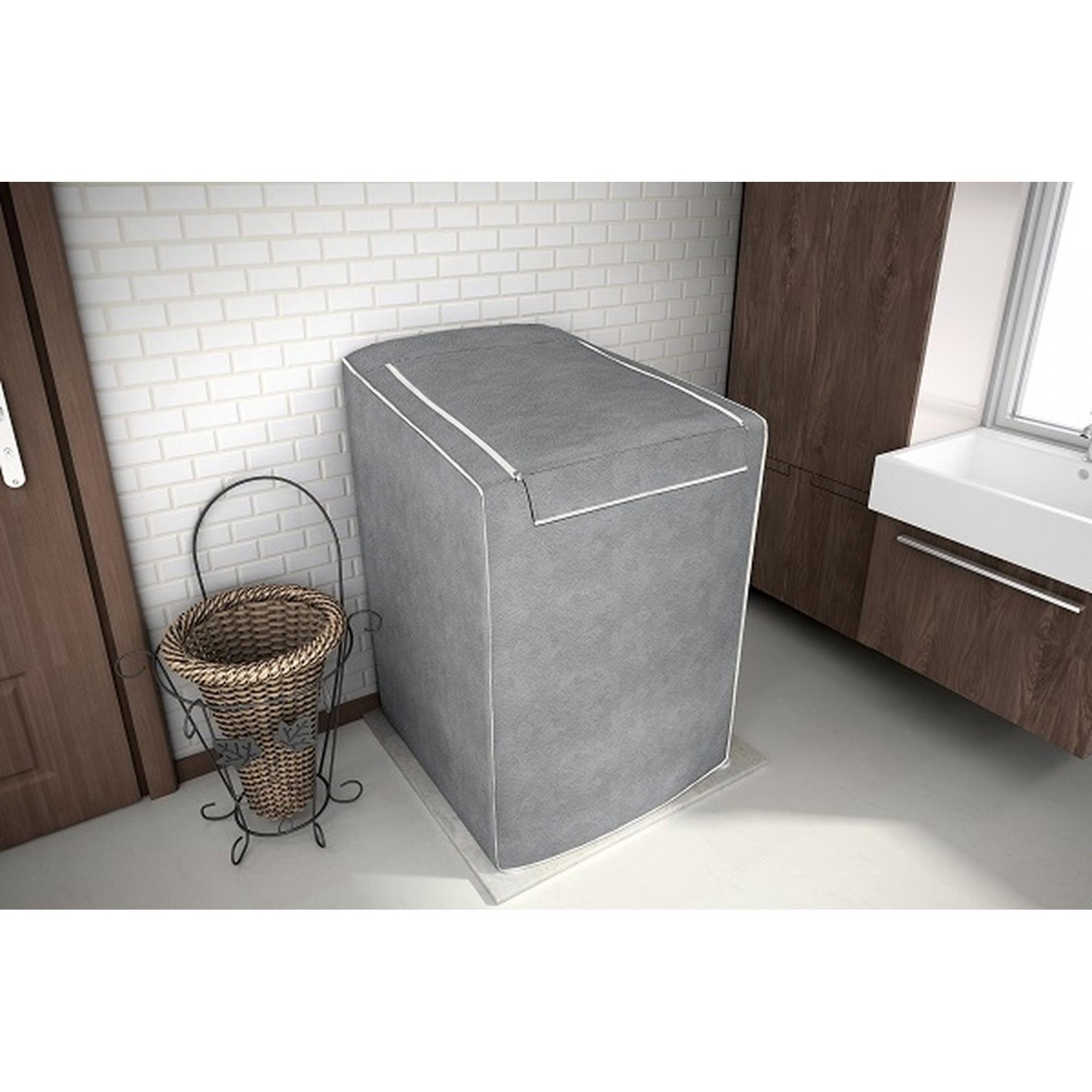 Capa para maquina de lavar Tamanho M Cinza