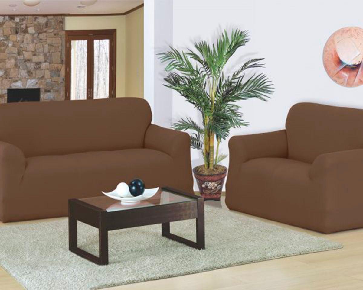 Capa para sofa Favorita 2 e 3 Lugares Tabaco