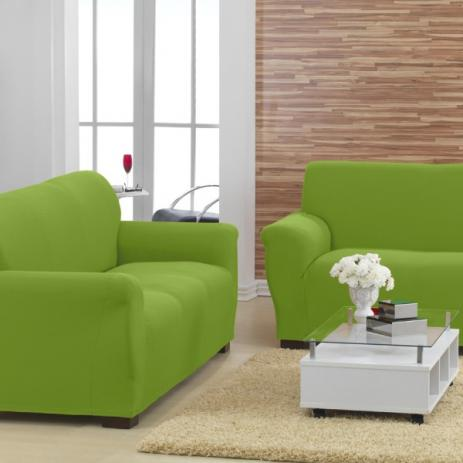 Capa para Sofa Malha New City Verde - Sultan