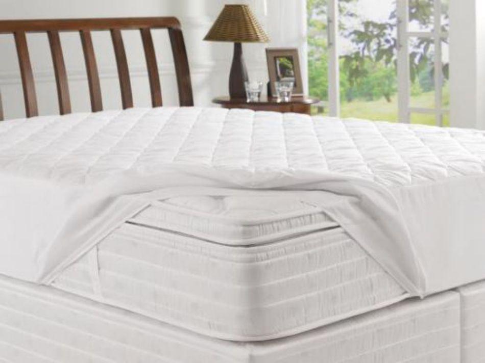 Capa Protetora de Colchão Solteiro Impermeável 188x88x30 Master Comfort