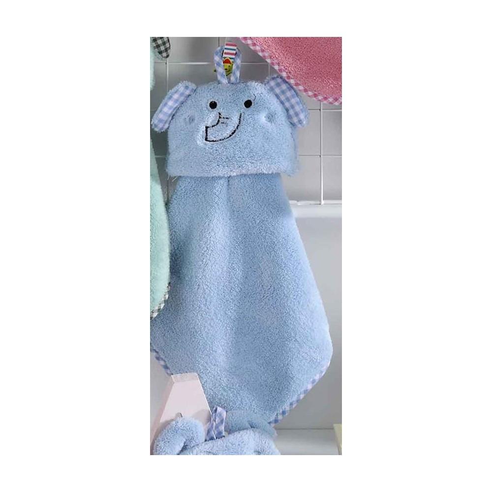 Cheirinho Elefante Azul 30x30cm - Bouton