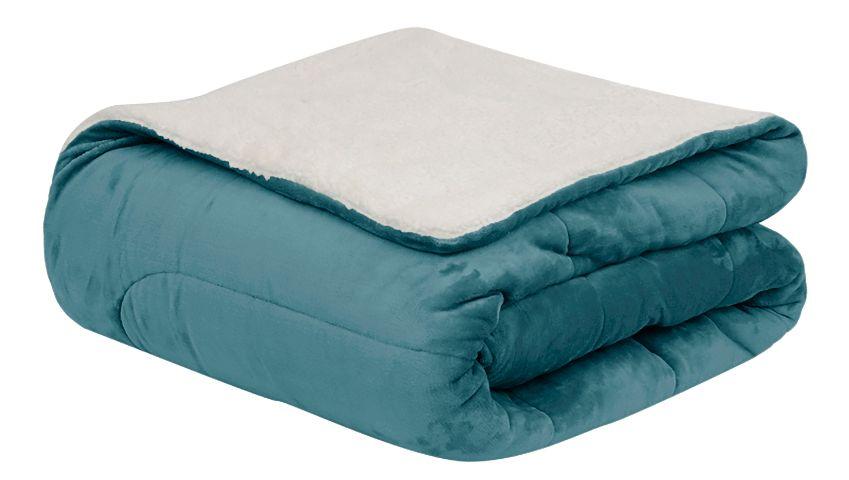Coberdrom Flannel Sherpa Tiffany 245X220 Casal