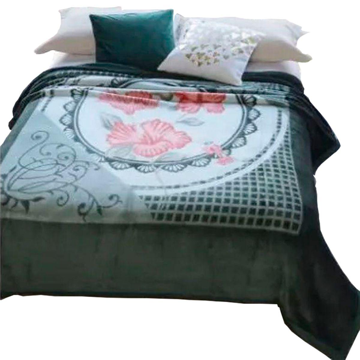 Cobertor Dyuri C/ Cinta Casal  Belo Jardim 180X220Cm