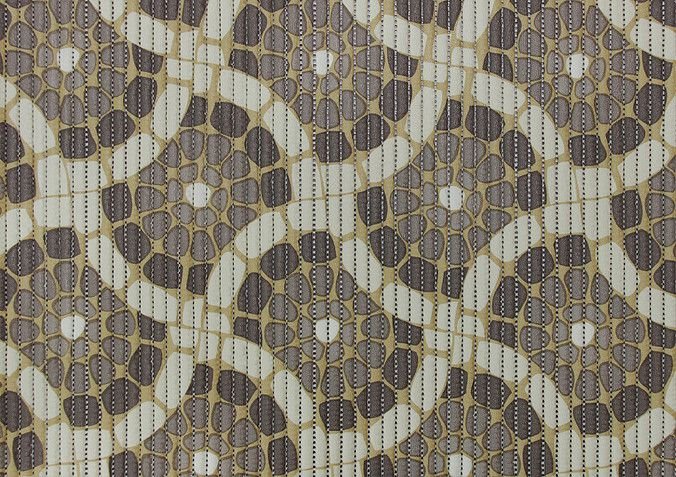 Duna Soft Mosaico Bege/Marrom