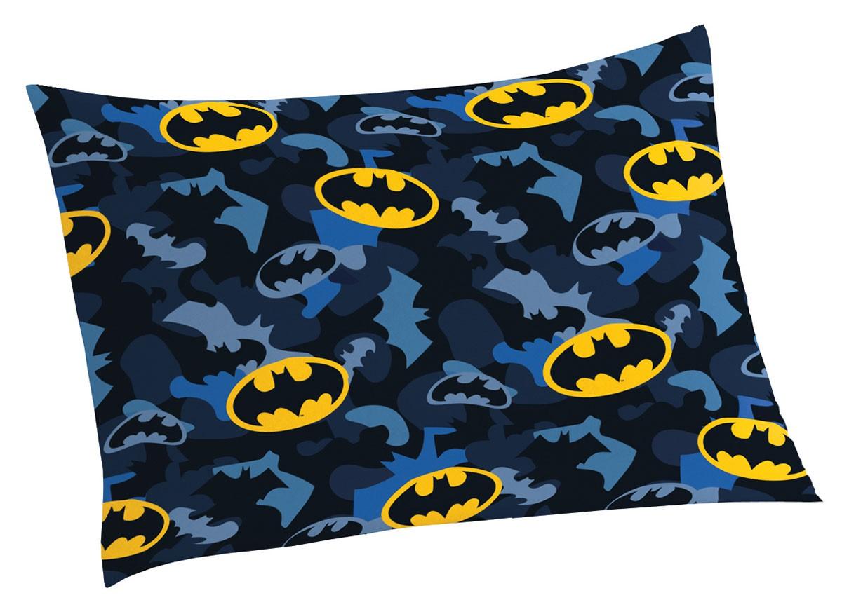 Fronha  Microfibra de Poliester Batman com 1 Peça