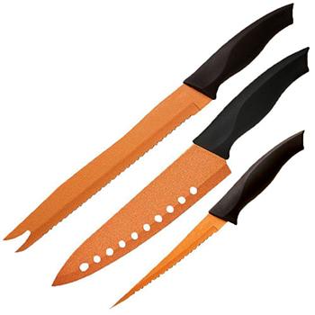 Kit de facas com 3 pçs MaxChef