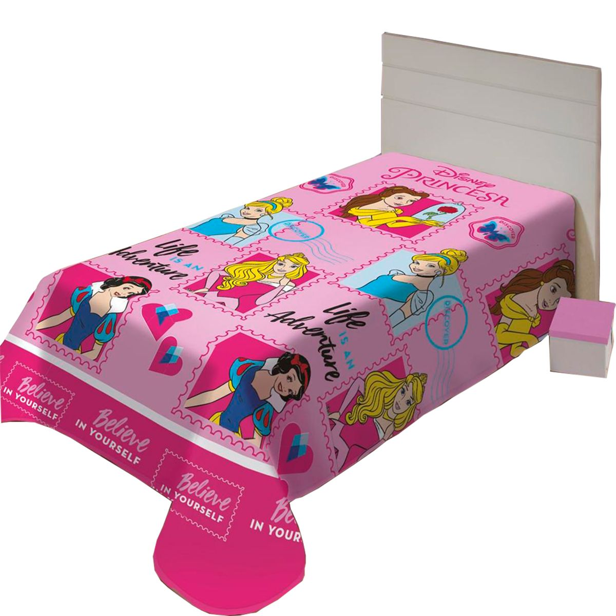 Manta Soft Disney Juvenil Amigas Princesas 150x200cm