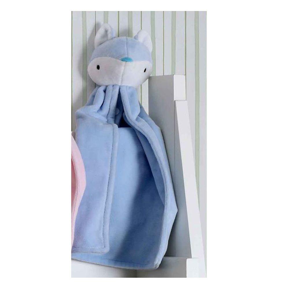 Naninha Raposa Azul Bouton 30x30cm