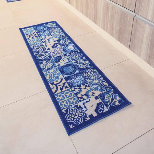 Passadeira Multiuso Colorful Bellacasa 150x50cm Azul