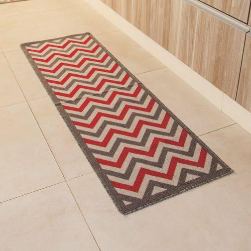 Passadeira Multiuso Gourmet 150x50cm  Zigzag  ColorFul BellaCasa