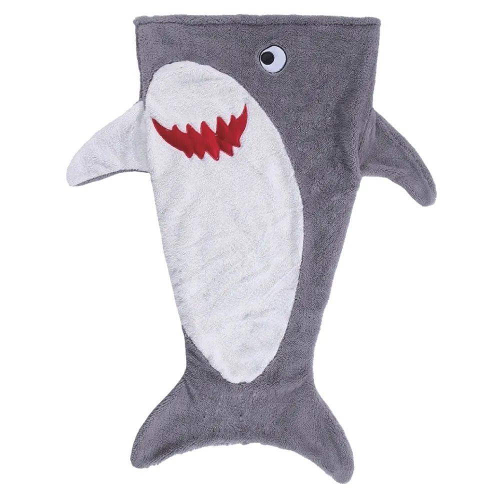 Saco de Dormir Tubarão Microfibra 140x50