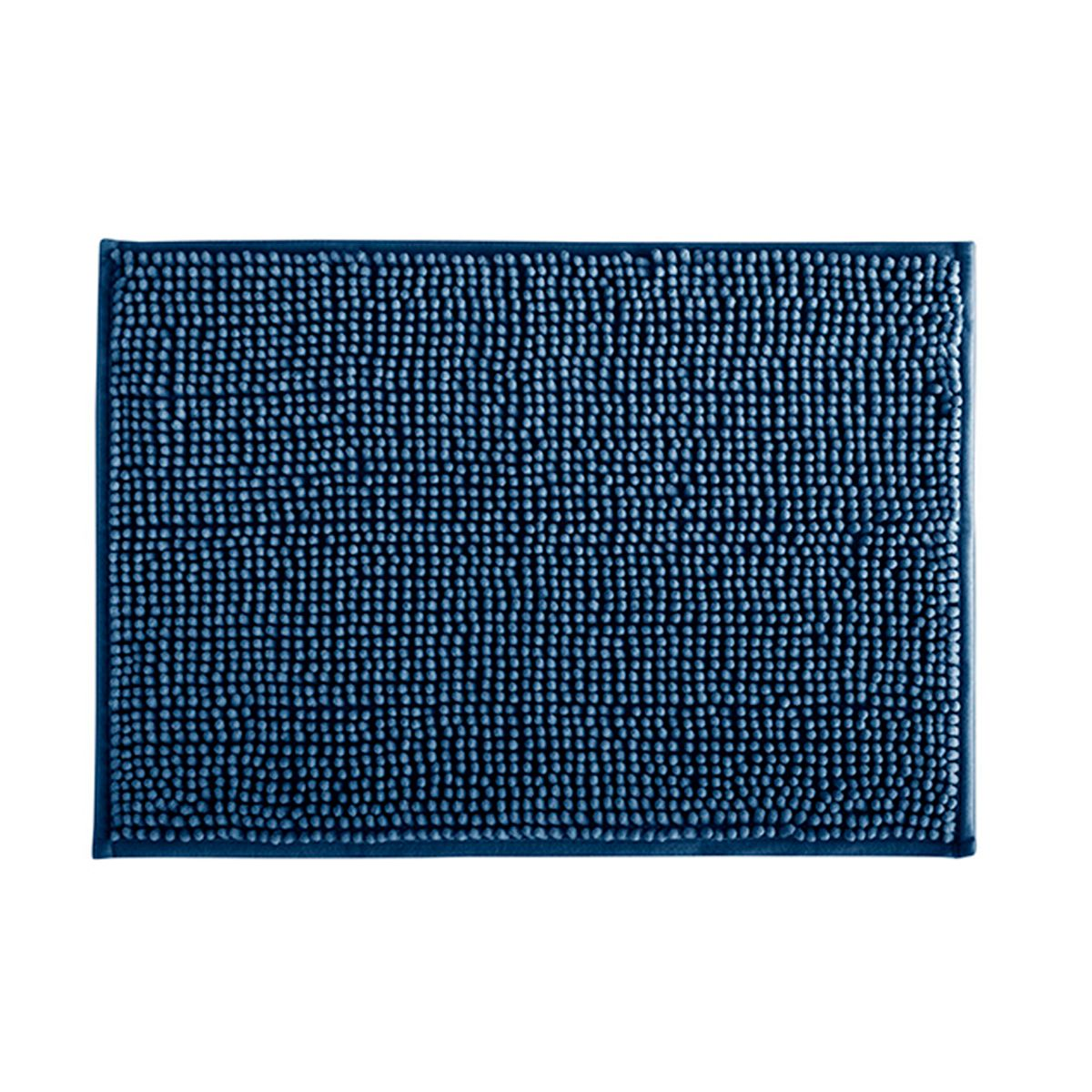 Tapete de Banheiro Dallas Azul Marinho 40x60cm