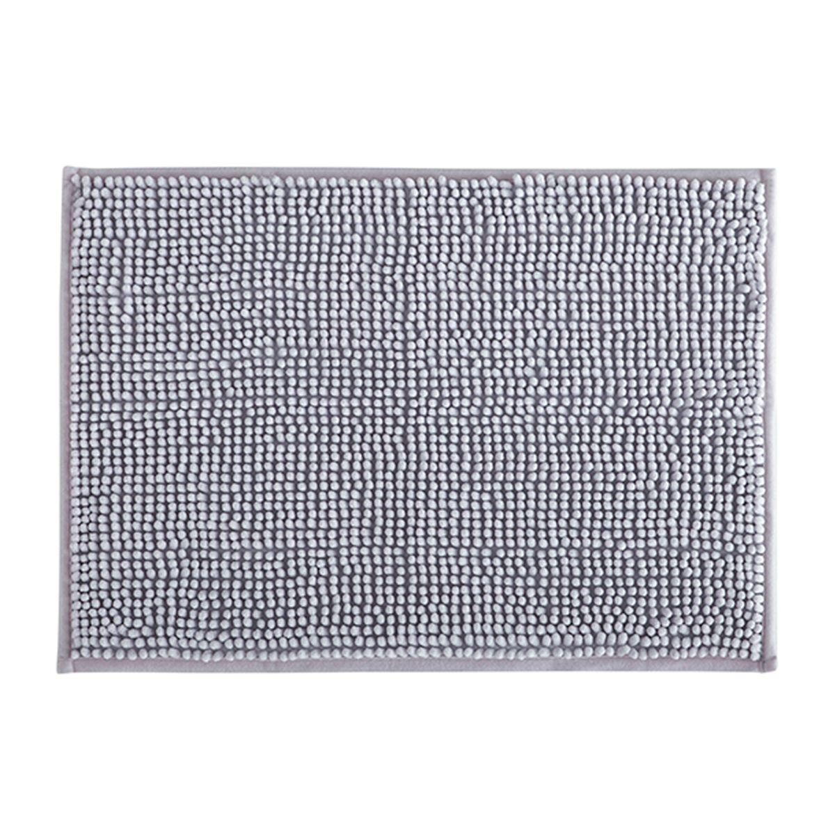 Tapete de Banheiro Dallas Cinza 40x60cm