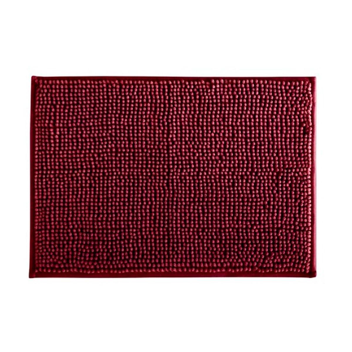 Tapete de Banheiro Dallas Vermelho 40x60cm