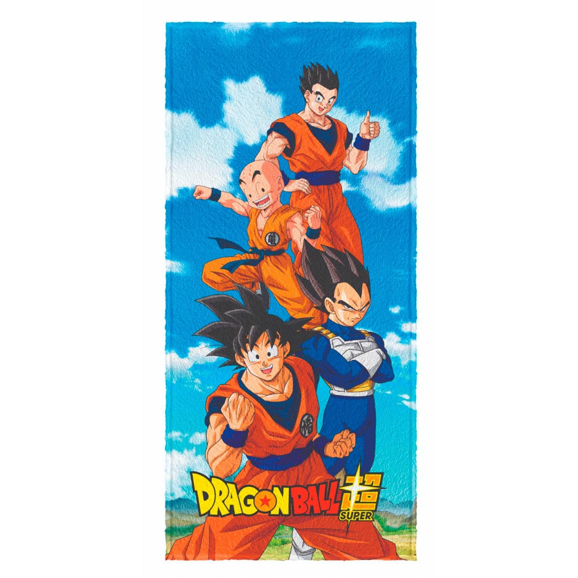Toalha de banho Felpuda Dragon Ball Super 60x120cm