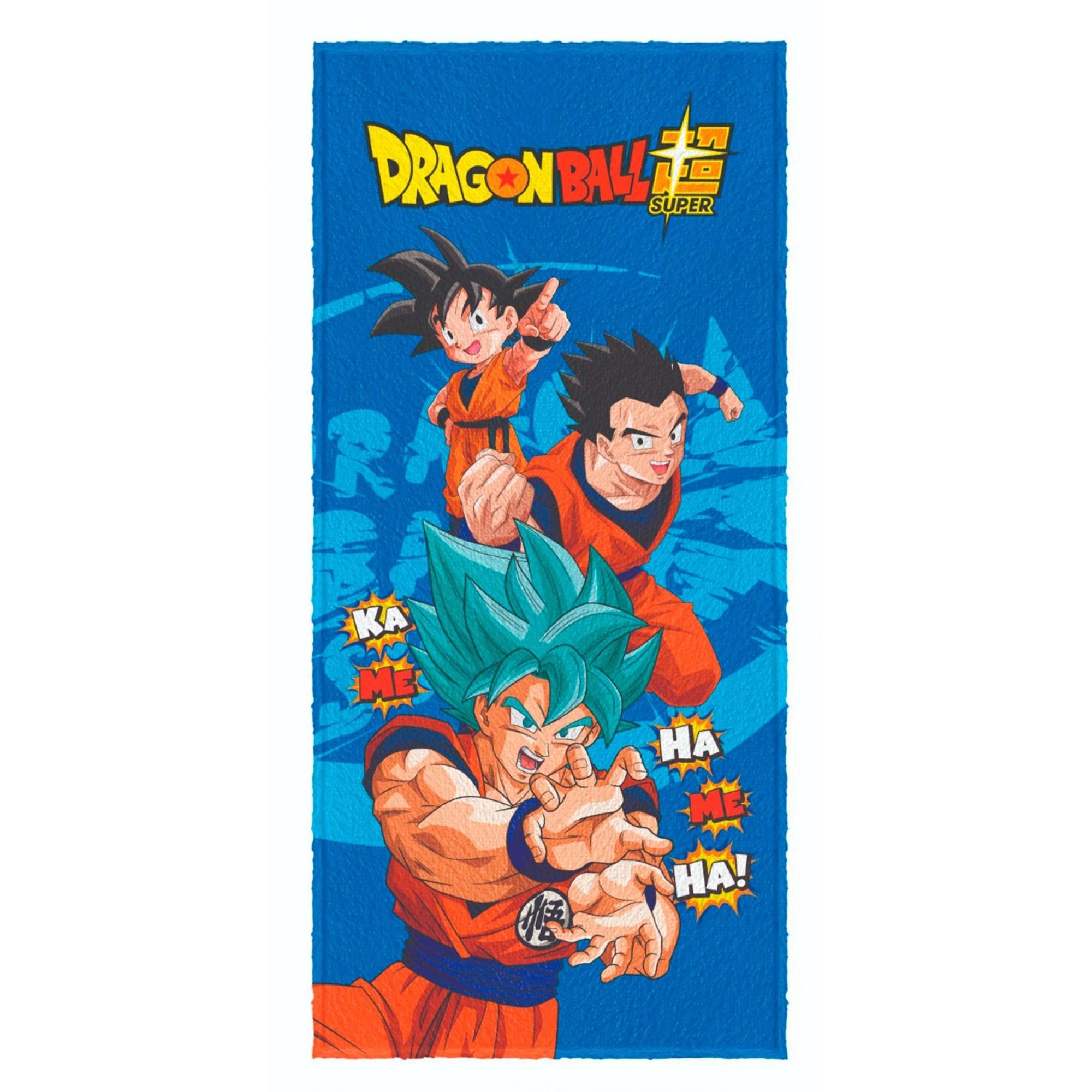 Toalha de banho Felpuda Dragon Ball Super Gohan 60x120cm