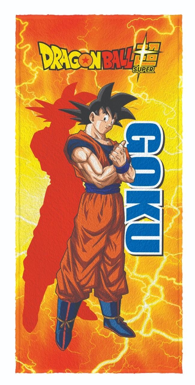 Toalha de banho Felpuda Dragon Ball Super Goku 60x120cm
