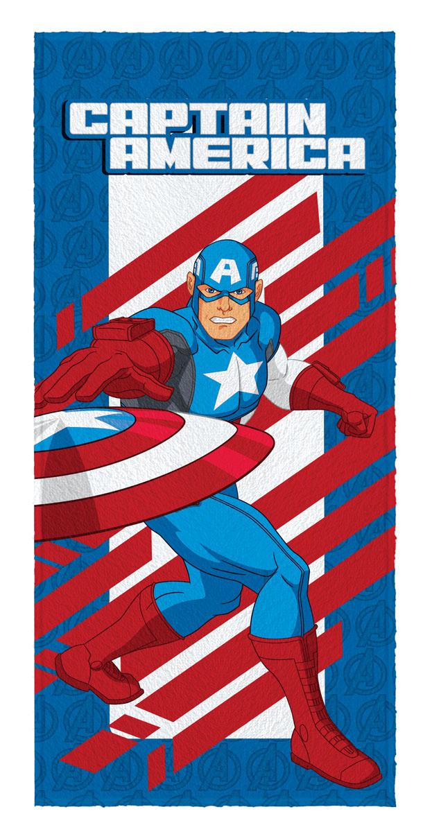 Toalha de Banho Felpuda infantil Avengers Capitão America mod 3